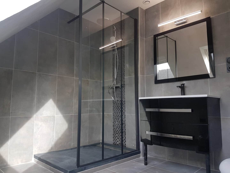 creation salle de bain brest - Agencement intérieur