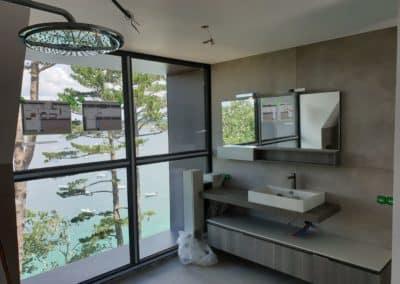 creation salle de bain plougonvelen 1 - Agencement intérieur