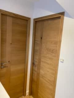 pose de portes renovation carantec 2 - Agencement intérieur