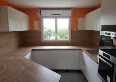 renovation cuisine bohars - Cuisine