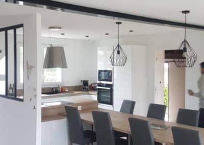renovation cuisine le drennec - Cuisine